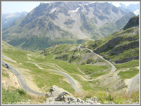 Photo prise au col du galibier